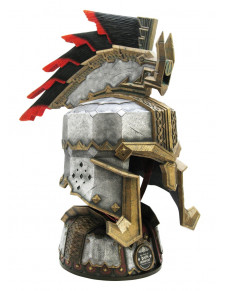The Hobbit - Helm of Dain Ironfoot with Stand