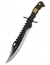 Marine Force Recon Sawback Bowie, med skede