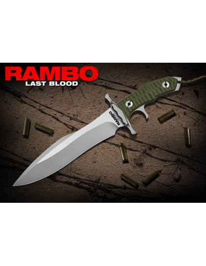 RAMBO: LAST BLOOD HEARTSTOPPER KNIFE LIMITED FIRST EDITION
