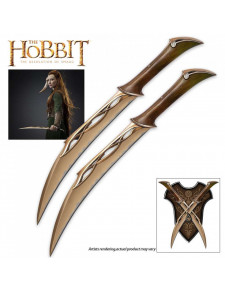 The Hobbit - Tauriel's Fighting Knives